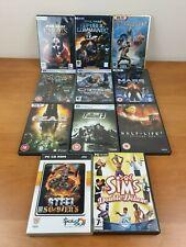 Star Wars, Bioshock, Crysis, Fallout, los Sims, Mass Effect, la semivida Juego PC