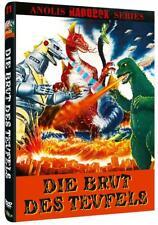 Anolis Hardbox Die Brut Des Teufels Godzilla & Mecha Caja de DVD HARTBOX NUEVO
