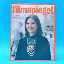 DDR Filmspiegel 21/1986 Lillian Gish Anne Kasprzik Martin Hellberg Aerobic V