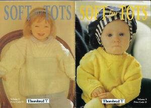 Soft for Tots 5 Thorobred knitting pattern Toddler knits 4 ply & DK 8 ply yarn