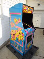 "New  Ms Pacman Galaga 27"" LCD monitor commercial upright video arcade game"