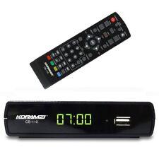 Analog to Digital TV Converter Box + Remote Control Koramzi CB-110