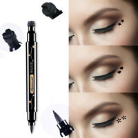 Double-headed Liquid Eyeliner Tattoo Stamp Eye Liner Pen Waterproof Long Lasting