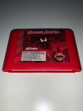 Maximum Carnage (Sega Genesis, 1994) Tested and Working Rare Red Version