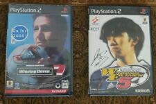 Winning Eleven 5 & 7 JAP Playstation 2 PS2 PS PlayStation2 Japanese Edition
