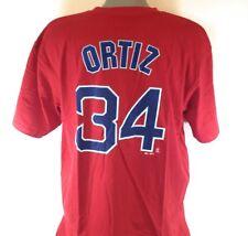 4f248208e Majestic David Ortiz Boston Red Sox Red Big & Tall Official Player T-shirt  3x