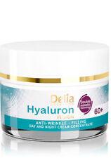WRINKLE FILLER FACE CREAM CONCENTRATE 60+ HYALURON ACID COLLAGEN Skin Neck Firm