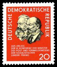 EBS East Germany DDR 1965 Socialist Posts Conference Peking Michel 1120 MNH**