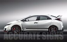 HONDA Civic Grafica Set Adesivi Strisce Adesivi Per Auto