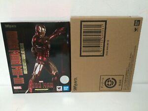 NEW BANDAI S.H.Figuarts IronMan Mark 3 Birth of Iron Man EDITION - US SELLER!