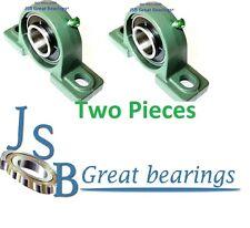 "(Qty.2) 1-1/4"" UCP206-20 Quality self-align UCP 206-20 Pillow block bearing ucp"