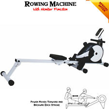 HTH Rowing Machine Body Tonner Cardio Workout Weight Loss Fitness Home Rower DVD