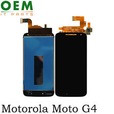 For Motorola Moto G4 Display LCD Touch Screen Digitizer Glass Replacement Black
