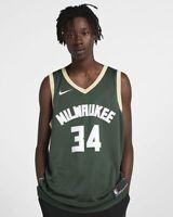 Nike NBA Milwaukee Bucks Giannis Antetokounmpo Icon Swingman Jersey 864489-323
