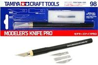 TAMIYA 74098 Modeler's Knife Pro PLASTIC MODEL KIT CRAFT TOOLS