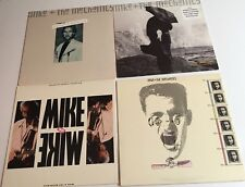 Mike Rutherford/Mike & The Mechanics LOT OF 4 Atlantic LPs promos Cue Sheets