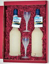 Behn Küstennebel Sternanis 2 Strandflaschen 21,8% 0,5 l Limited Edition+2Gläser