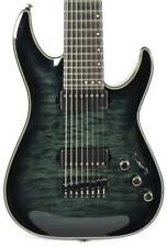 New ListingSchecter Hellraiser Hybrid C-8 8-String Quilt Top Trans Black Electric Guitar