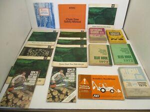 17 - Manuals Stihl FIEI Husqvarna Blue Books Tractor Equipment Crawler Loader L2