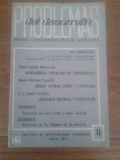 PROBLEMAS DEL DESARROLLO. REVISTA LATINOAMERICANA DE ECONOMÍA nº 8 (México, 1971