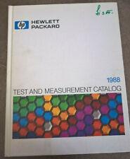HP Katalog Buch 1988 Hewlett Packard Test & Measurement Catalog