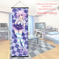 Anime Wall Scroll Poster Hyperdimension Neptunia Neptune Art Home Decor 40x120cm