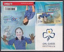 Australia 2010 Centenary of Girl Guides Gen Booklet ($12) - B466a