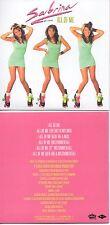 CD SINGLE SABRINA - Stock Aitken Waterman - PWL All Of Me - 6-track CARD SLEEVE