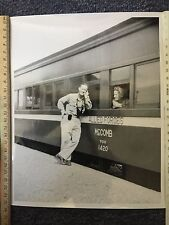 Old Photo Of Couple And Allied Forces McComb Train