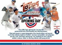 2018 Topps Opening Day Baseball Complete Your Set Pick 25 Cards From List