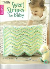 New listing Sweet Stripes for Baby ~ Crochet Book ~ New