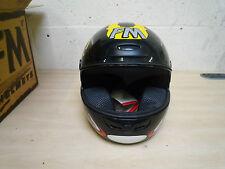 FM Axe AX3 Helmet Black/ Yellow/ Anthracite& Red. 52/ XXS FREE MAINLAND UK P&P