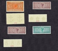 Queen Victoria High Values Sg137,185,186 &212  (forgeries)