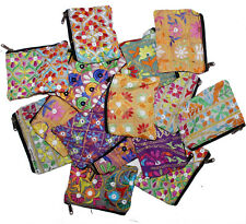 Indian Hand Bag Beautiful Embroidered Clutch Purse Women Vintage Pouch 20 Pc Lot