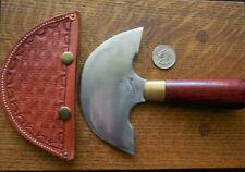 Headknife C.S. Osbourn Model 70 Leather Working Leathercraft Cutting Round Knife