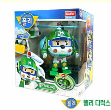 Robocar Poli HELLI DELUXE Transformer/ Transforming Robot Toy/Diecast / Academy