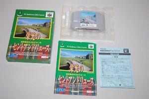 St. Andrews Old Course japan Nintendo 64 N64 Game