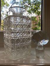 More details for vintage crystal glass decanter