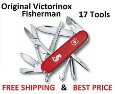 1.4733.72 VICTORINOX SWISS ARMY POCKET KNIFE FISHERMAN 17 TOOLS 53541 RED