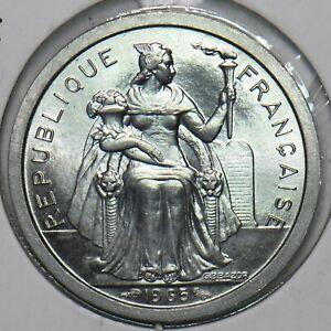 French Polynesia 1965 Franc 297839 combine