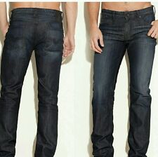 NWT GUESS Lincoln Original Straight Jeans in CRX wash, 32 Inseam SIZE 38