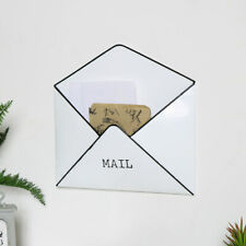 Wall Mounted Mail or Post Holder letters wall mounted decor retro vintage rustic