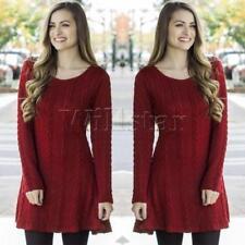 Vestidos de mujer sin marca color principal rojo