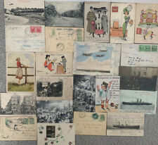 More details for postcard collection from belgium - 22 in total from the 1880s onwards