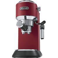 Delonghi EC 685.R DEDICA Rot Espresso-Maschine Siebträger 1 l Wassertank