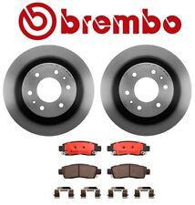 For Isuzu Ascender 2003-2008 Rear Left & Right Rotors & Pads Brake KIT Brembo