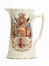 ANTIQUE STAFFORDSHIRE WWI UNITY IS STRENGTH JUG