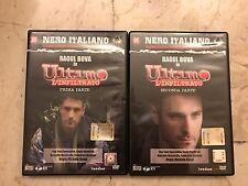 DVD - Raul Bova - Ultimo - L'infiltrato - 1 e 2 Parte - Nero Italiano n° 13, 14