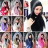New Women Muslim Hot Drilling Hijab Islamic Scarf Arab Caps Shawls Headscarf