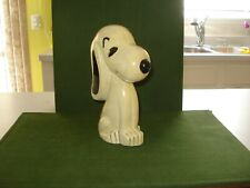 1962 SNOOPY CERAMIC BANK, MADE by LEGO, LIKE THE BOBBING HEADS, HUNGERFORD POSE